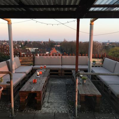 Unsere neue Rooftop Lounge
